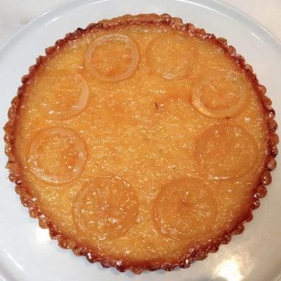 """French Lemon Tart from John Barricelli's """"The Seasonal Baker"""""""