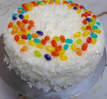 The Coconuttiest of Coconut Cake of all time from John Barricelli of SoNo Bakery and Café