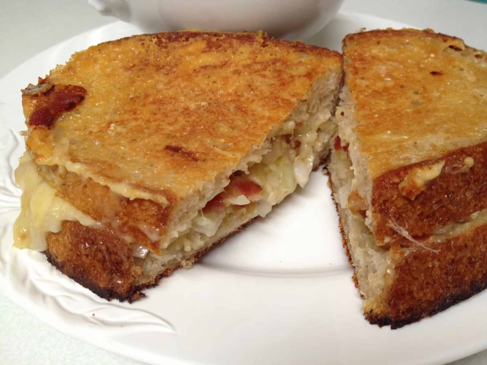 """Review of Ruth Reichl's """"My Kitchen Year. 136 Recipes that saved my life"""" And Ruth's recipe for The Diva of Grilled Cheese."""