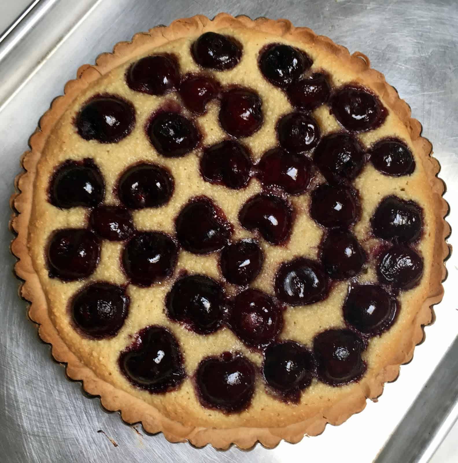 David Lebovitz' Summer Frangipane Fruit Tart