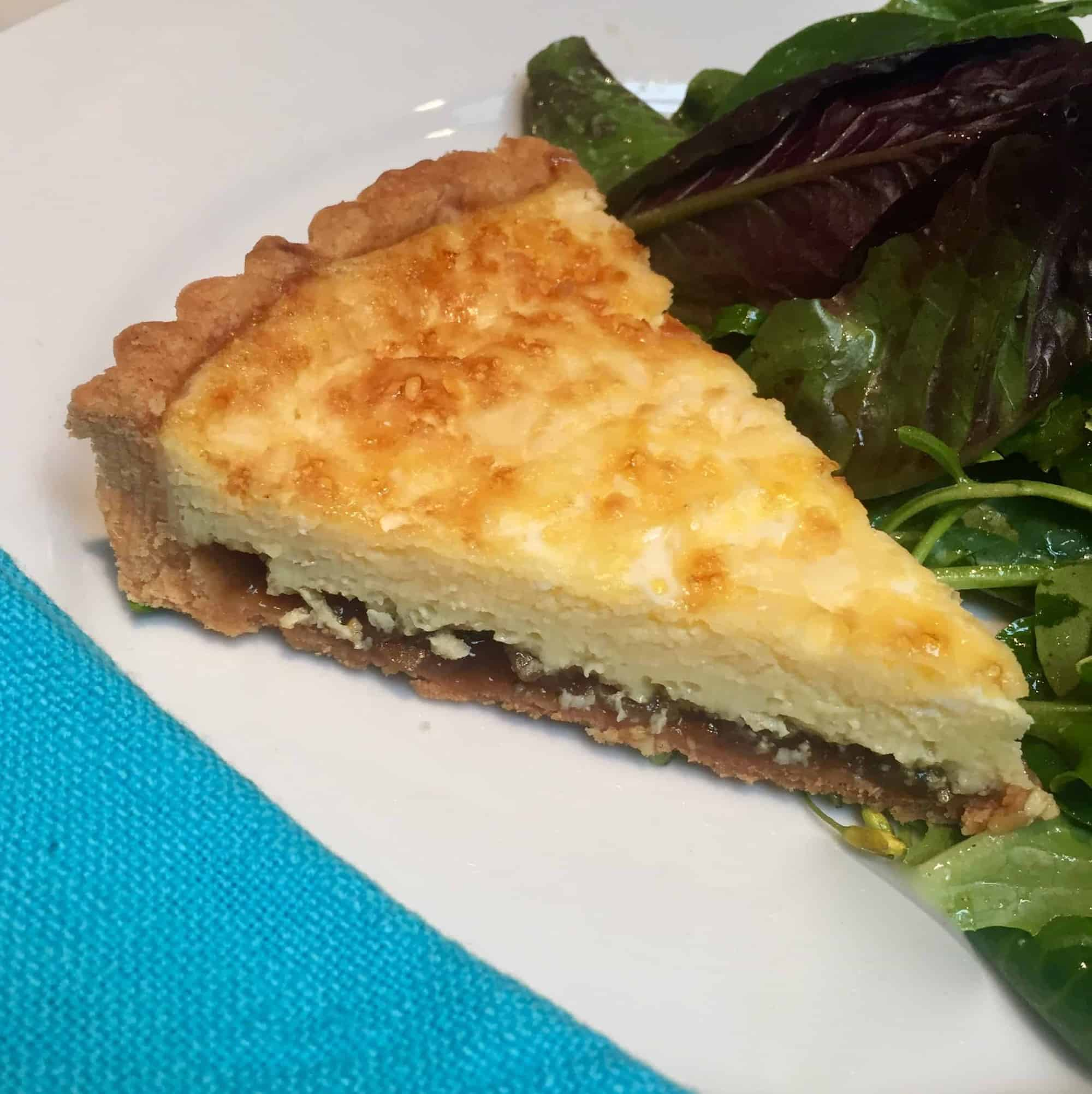 Ploughman's Cheddar and Onion Marmalade Tart