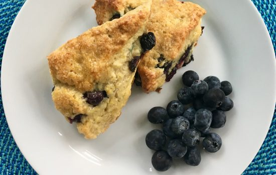 Blueberry Buttermilk Scones from Huckleberry Bakery and Cafe, Santa Monica, California