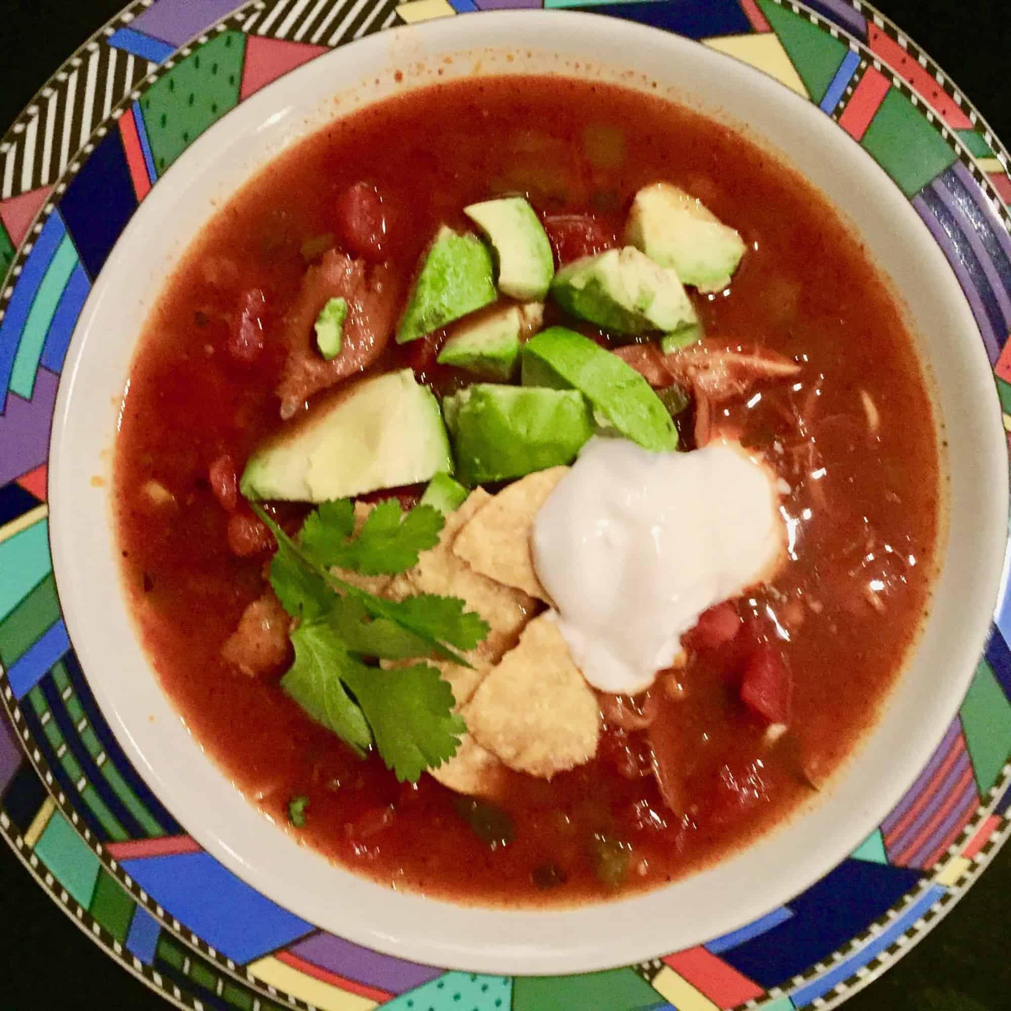 Lauren's Mother-In-Law's Tortilla Soup
