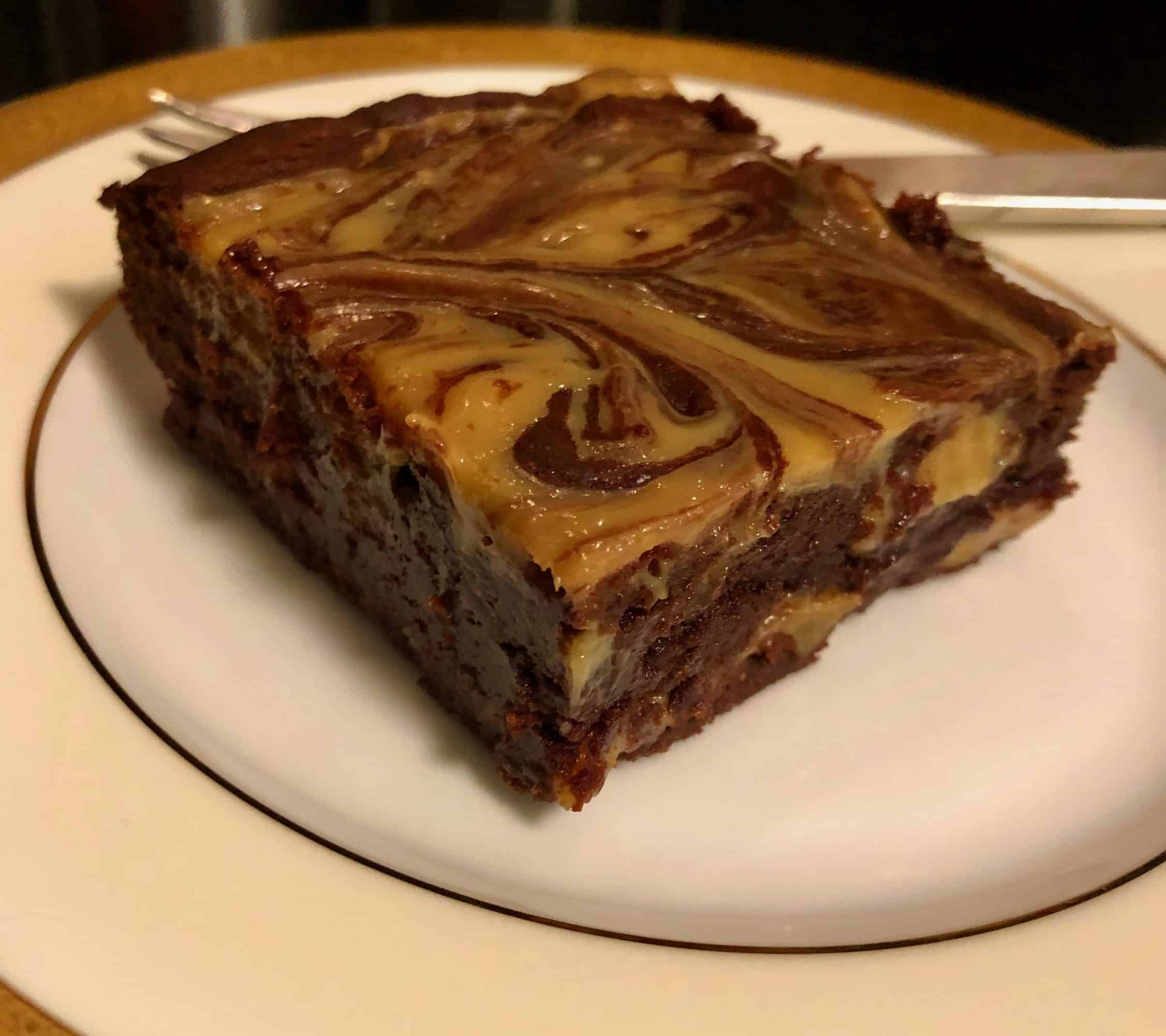 Dulce de Leche Brownies from David Lebovitz