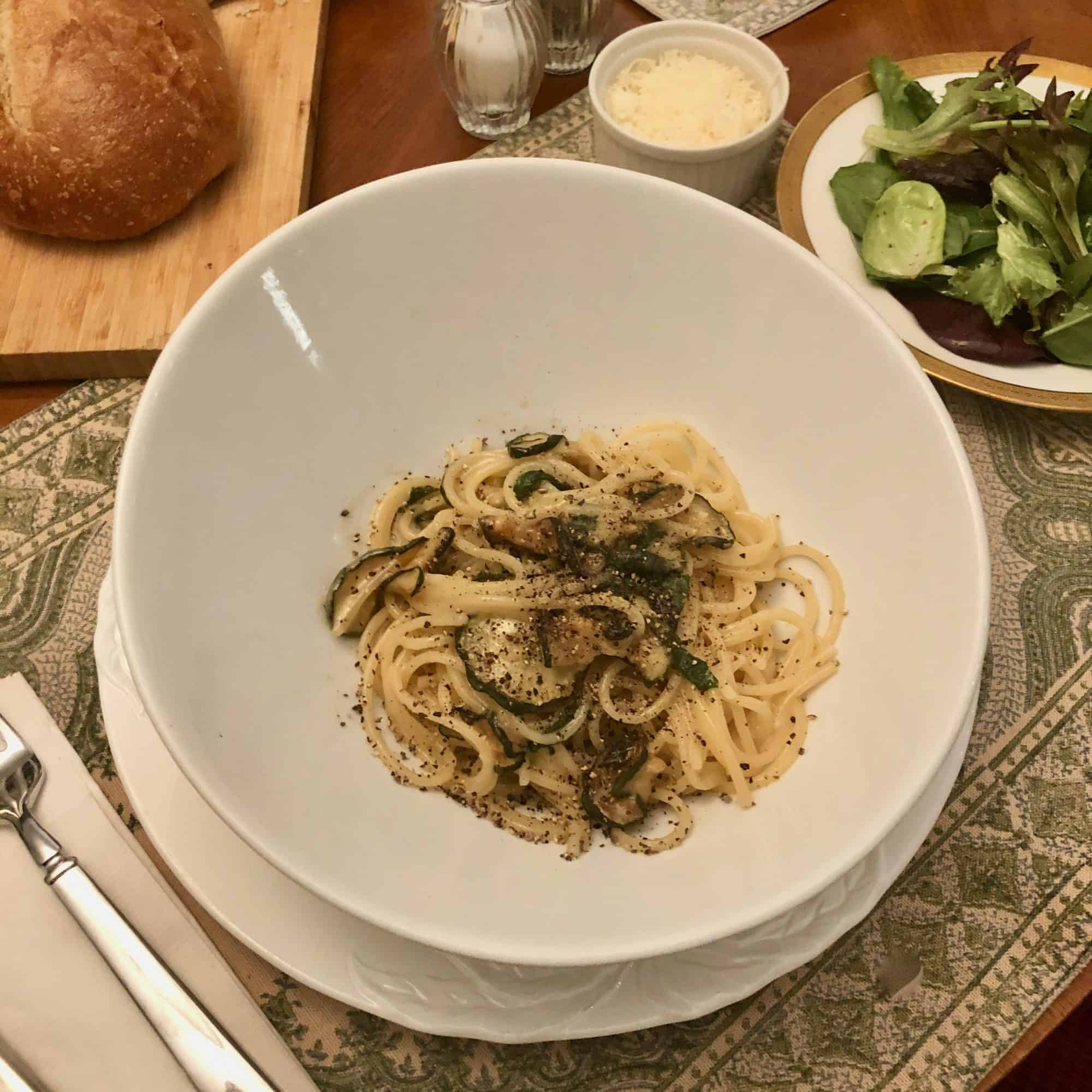 """From Stanley Tucci's """"Searching For Italy"""": Spaghetti Alla Nerano"""